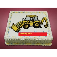 Backhoe Design cake -2Kg